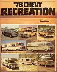 chevrolet truck ads advertising gm 1978 van camper motorhome generalmotors