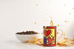 end & coffee big Splash (dongga BS) Tags: coffee kaffee splash highspeed spritzer canoneos50d ef50mmf12lusm frozenmovment