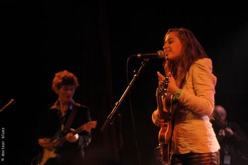 Nina Attal révélation du tremplin Blues sur Seine 2009