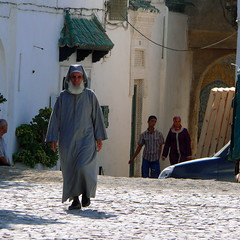 Man with a white beard, Tangier, Morocco (fam_nordstrom) Tags: morocco marruecos 2009 tangier tanger marocko