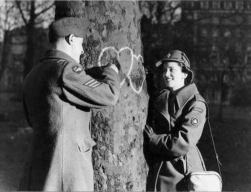 CWAC Valentine's Day 1944