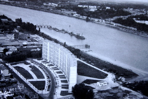 La Cité lumineuse en 1963. Photo Michel Le Collen