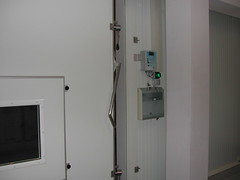 particolare porta atmosfera controllata AC