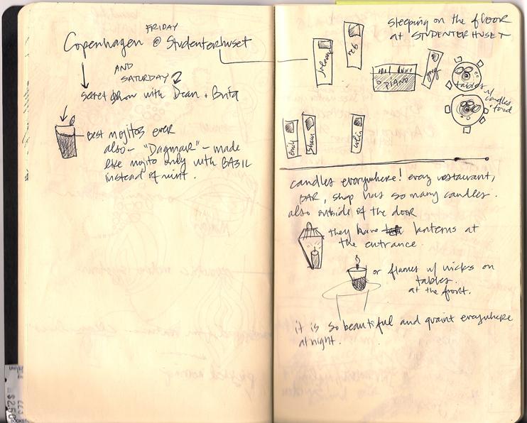 Tour Doodle: Copenhagen, Denmark - 2007