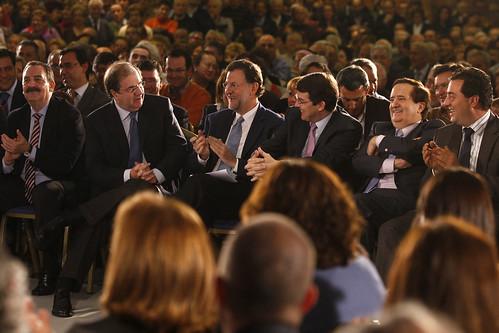 Mariano Rajoy, Juan Vicente Herrera, Alfonso Fernandez Mañueco