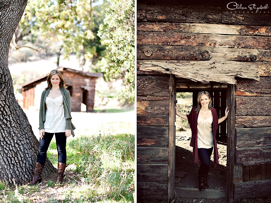 Los Angeles Headshot Photographer Rustic Barn