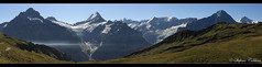Verso il Bachsee.. (Finsty) Tags: mountain alps alpes schweiz switzerland suisse first grindelwald alpen svizzera alp eiger jungfrau berneroberland oberland schreckhorn finsteraarhorn bachsee oberlandbernese reeti lauteraarhorn bachalp wtterhorn