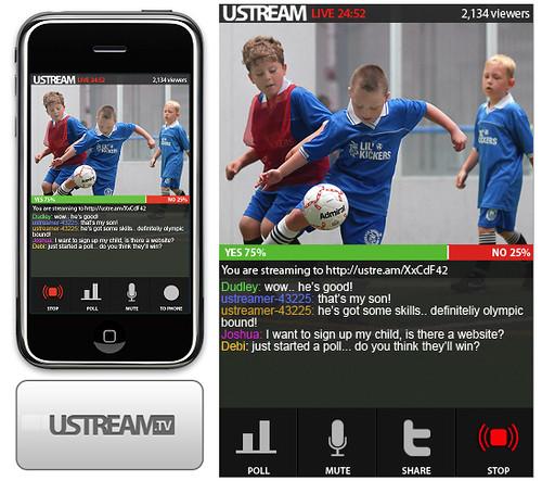 Ustream Releases iPhone App - 4174518182 7fac627633 1