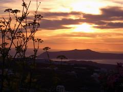 Pyrgos, Santorini Sunset