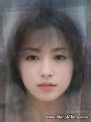 C)Morphed  19 Faces