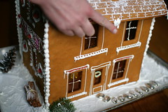 gingerbread stone house 1
