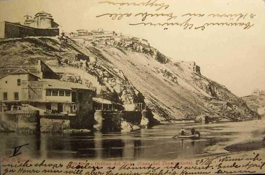 Casa del diamantista a principios del siglo XX. Foto Garcés