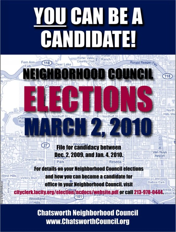 Be a Candidate Announcement