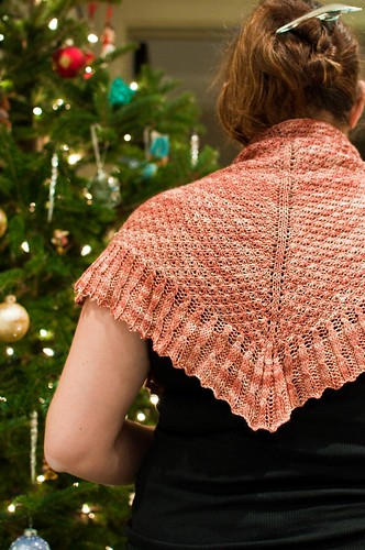 Sagano Shawl - FINISHED