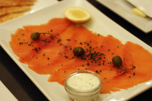 Hand Slicked Smoked Salmon - toast points, creme fraiche