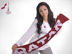 Qatar National Day Theme (S.H Make-Up Artist) Tags: beautiful beauty arab actress 18 qatar  qatari           makeup2010