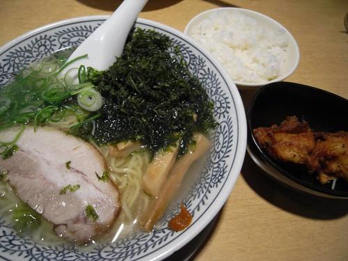 丸源ラーメン(二条大路店)@奈良市-08