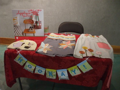 Kayte's projects from Applique Your Way!