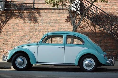 It's a Volkswagen Beetle/Bug
