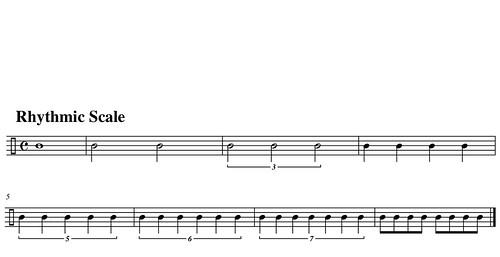 rhythmic scale-2