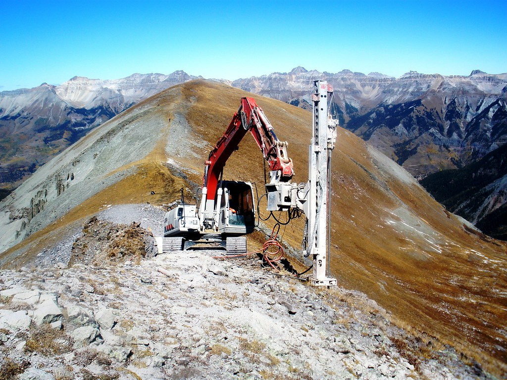 Mountain Drilling by Link-Belt - Telluride