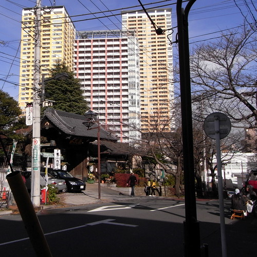 Nippori, The Hongyou-ji Temple