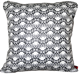 laidback home soulchain white pillow