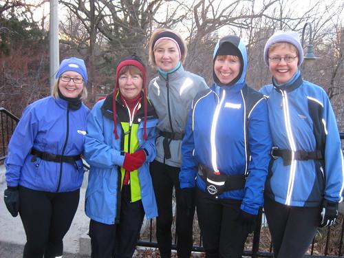 Annie Zurakowsky Saturday Training Run January 23, 2010