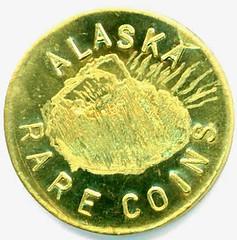 Alaska Rare Coins 1oz Gold Token Obv
