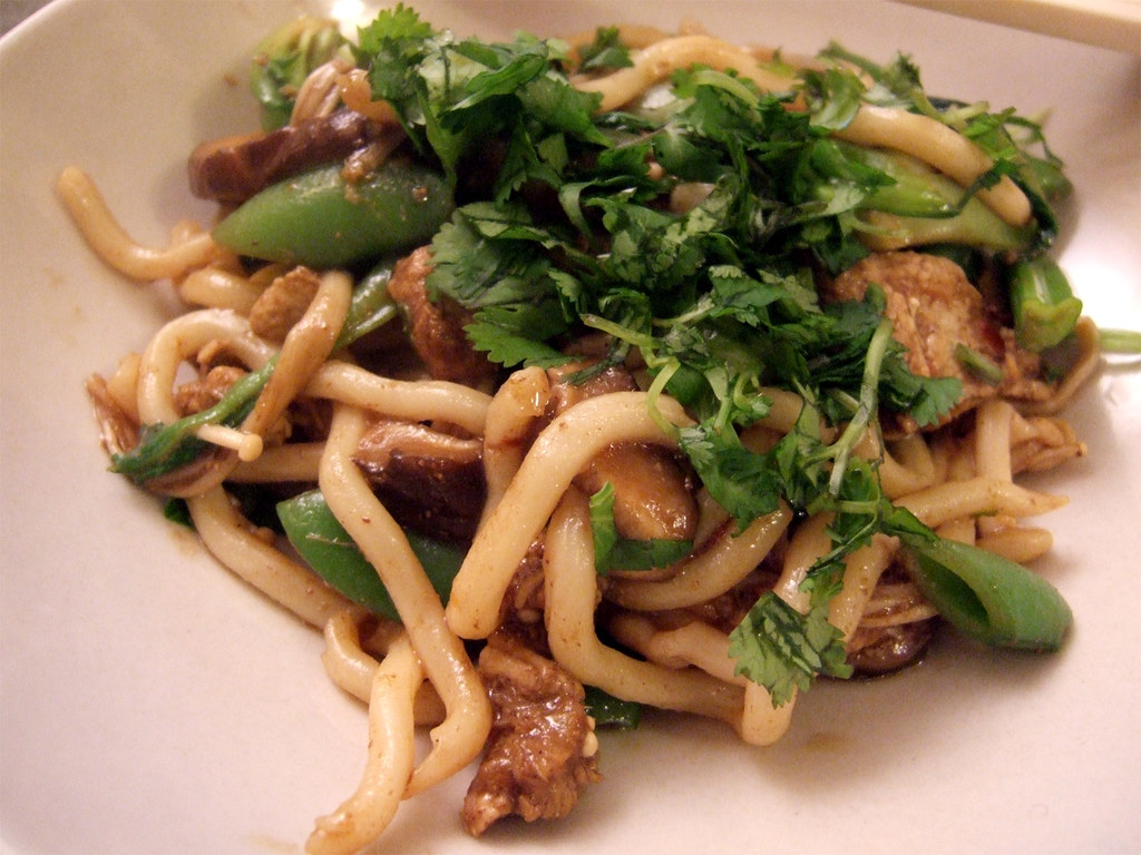 spicy chicken udon_02