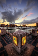 River Walk Diamond (Cool HDR (Chris Pokorny)) Tags: sunset river tampa florida walk hdr riverwalk hdri