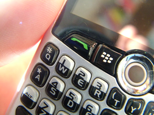 BlackBerry QWERTY keyboard
