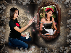 Zenescope Enter Wonderland (VictoriaCosplay) Tags: from mirror escape cosplay wonderland aliceinwonderland throughthelookingglass frenchmaid grimmfairytales zenescope returntowonderland zenescopeentertainment beyondwonderland calieliddle ravengregory victoriacosplay wwwcosplaygirlwebscom