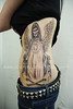 Mary angel Tattoo Tattooed by Ray