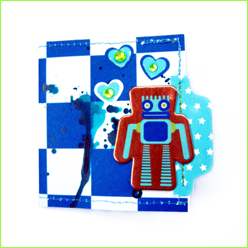 PNA Robot Love Card
