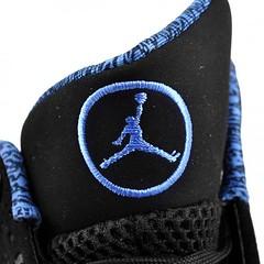 Air Jordan 2010 Black/University Blue colorway
