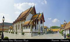 Panorama Suthat Thepwararam Temple / พาโนรามาวัดสุทัศน์เทพวราราม