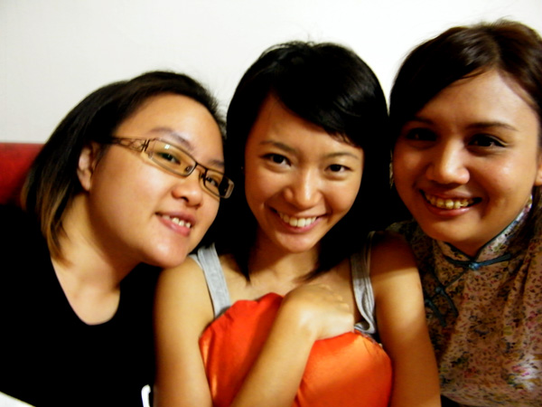 Jac, Berlinda and Pei Wen