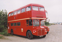 LETTS NMY662E HENSTRIDGE AIRFIELD 180802 (DavidsTransportPix) Tags: routemaster parkroyal londontransport rma aec britisheuropeanairways nonpsv nmy662e