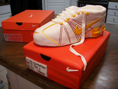 Niki Shoe Cake