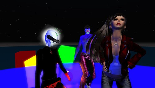 mr widget, xavier, raftwet in second life