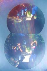 Sin Retoques - No Retouch (Venice Italy Europe) (Seigar) Tags: lighting trip travel viaje blue venice light summer two people italy sculpture house distortion hot color colour reflection art tourism luz sol me colors azul museum modern garden photography mirror luces casa couple warm europa europe artist italia european pareja sightseeing july blues pop best journey frame trendy repetition espejo reflejo verano 100views guggenheim museo nophotoshop peggy peggys popular tones venecia viajar mejor celeste cuerpo visitar noretouch supershot 100vistas sinretocar theblueheartbeat lasfotosdetoro ellatidodelcoraznazul seigar