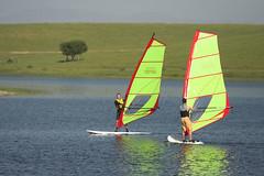 Windsurfing Class Fun