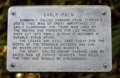 NAD BASKETS (Roger Cullman) Tags: nature sign nationalpark basket florida balls misspelling testicles typo funnysign ocala nad naturetrail gonad sablepalm nadbaskets
