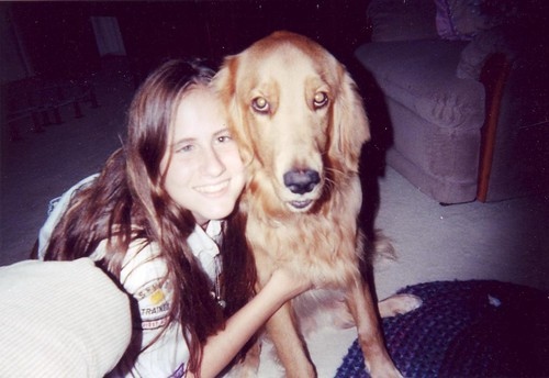 1997 Amanda with Max