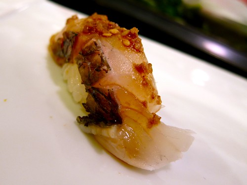 Red Snapper with Sesame Soy Sauce at Nozomi