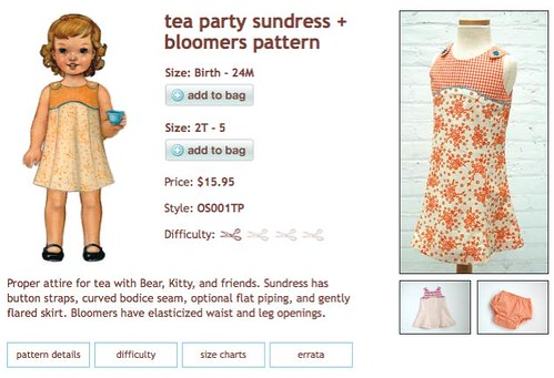 Oliver S Tea Party Dress