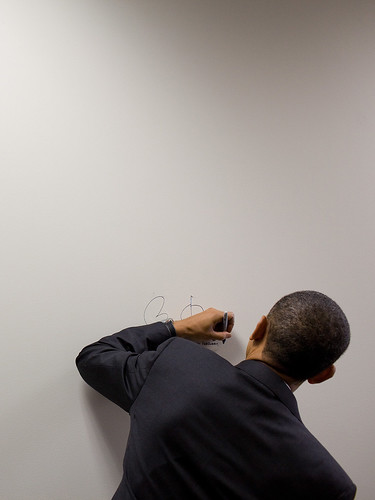 Obama Signs His Health Care Bill