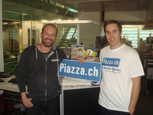 Besuch bei Piazza.ch