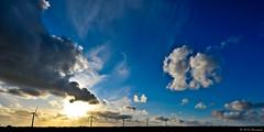en passant (Brestitude) Tags: sunset sky brittany bretagne breizh ciel coucherdesoleil couchédesoleil finistère eoliennes lampaul d700 brestitude